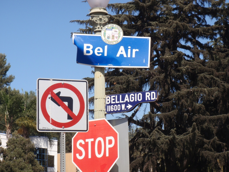Bel Air Sign by Endre Barath