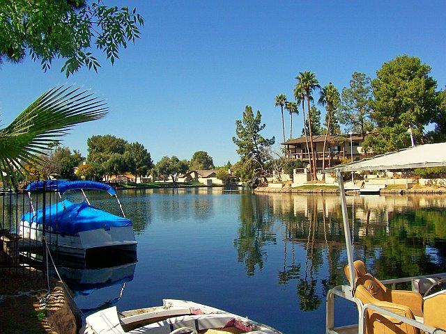 Lakes waterfront community tempe az for Fishing in phoenix arizona