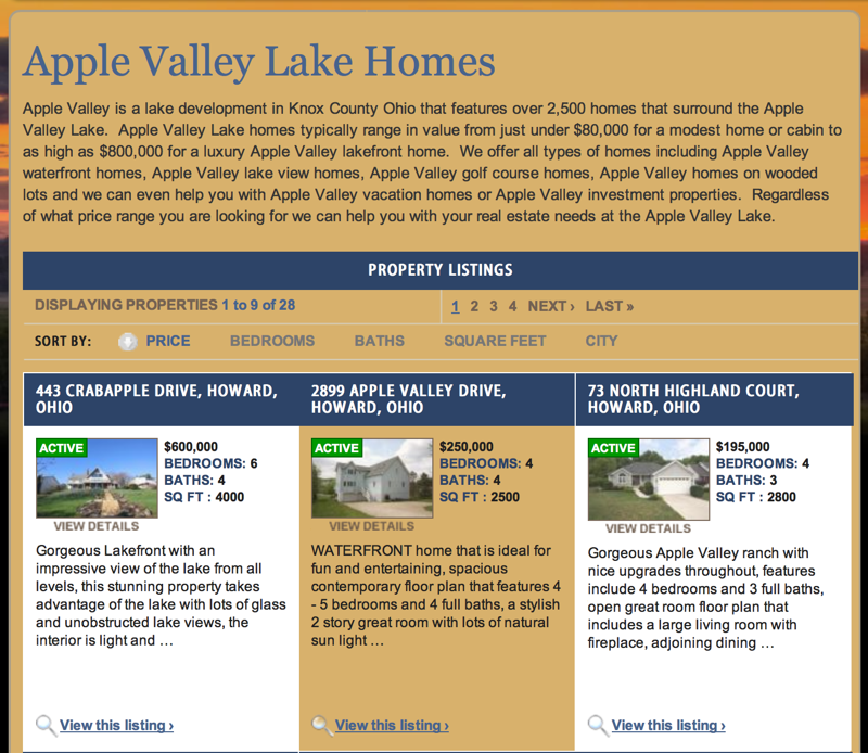 Apple Valley Lake Homes For Sale