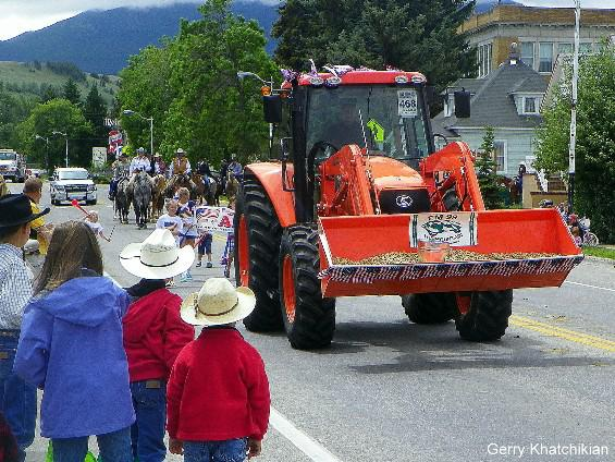 Rodeo of Champions and July 4th Parade in Red Lodge, Montana - July 2010