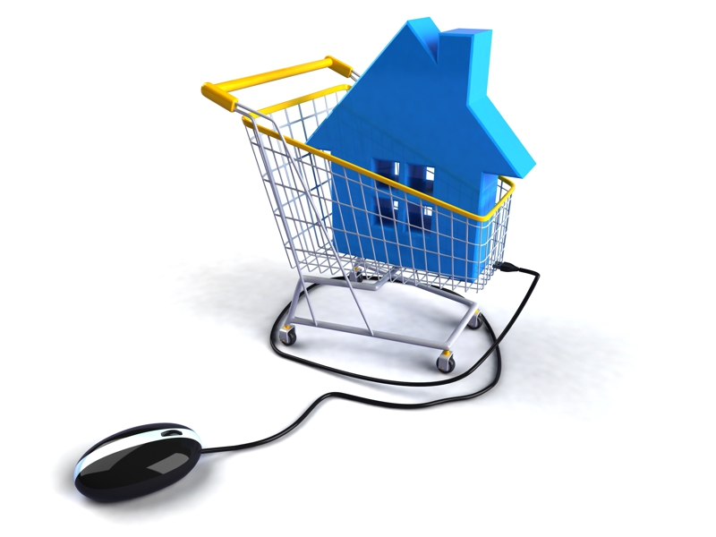 house shopping cart