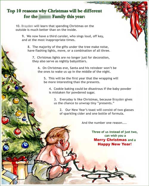 will you write a christmas newsletter - Christmas Newsletter Ideas
