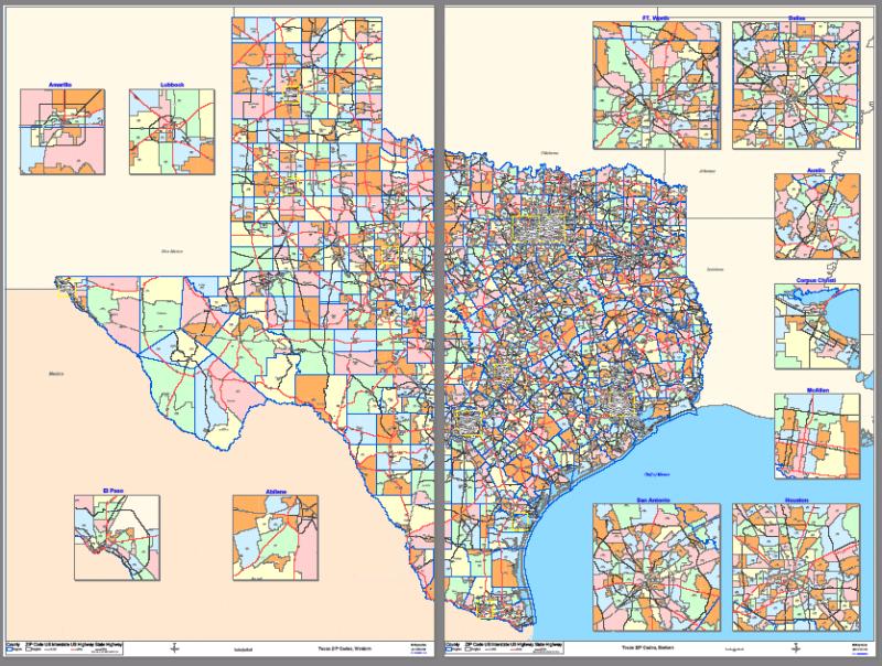 Mcallen Texas Zip Code Map Zip Code Map