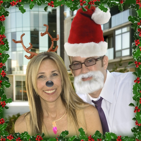 Chris and Stephanie Somers Ready for the Holidays