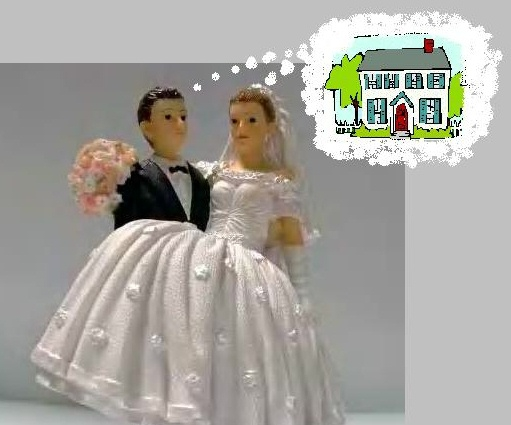 Rethink the bridal registry re direct funds to a first for Wedding registry house fund