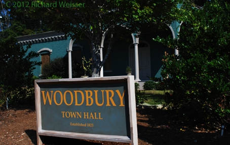 Fictional Woodbury City Hall for the Walking Dead series