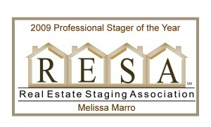 2009 RESA Pro Stager of the Year