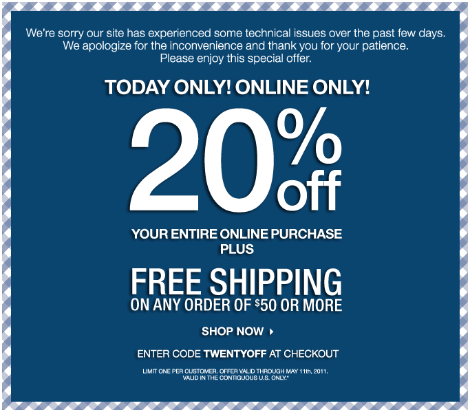 bath and body works 20 off free shipping