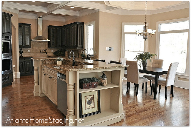 Atlanta home staging kitchen staging before and after pictures Kitchen design center atlanta