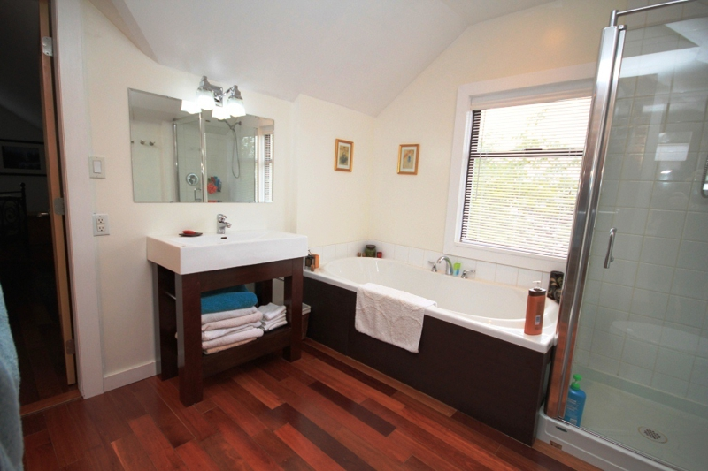 Beautiful En-suite Bath at 1100 Tolmie Ave