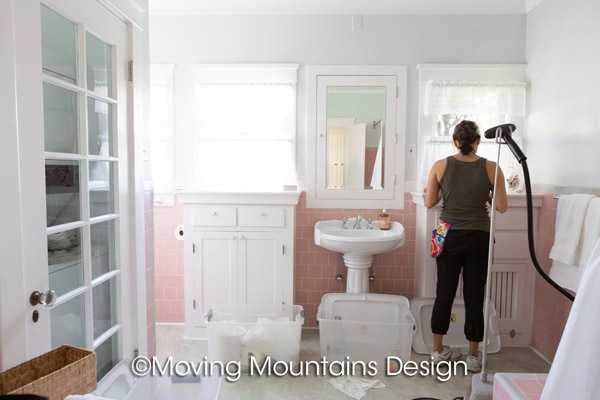 Bathroom home staging in Pasadena