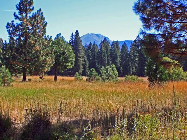 Lassen Mountain Range