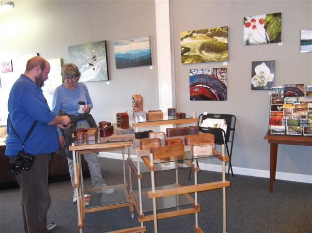 fused glass, wood art boxes, photography, jewelry, and more Gallery 26