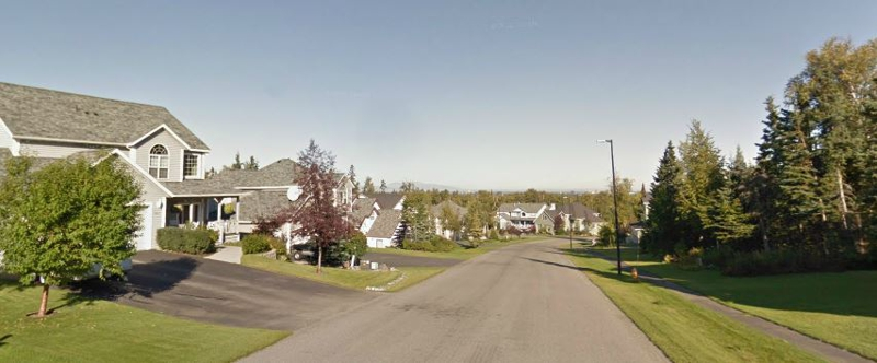 Sahalee Neighborhood in Anchorage AK