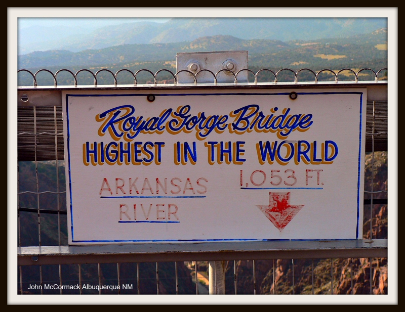 Royal Gorge Bridge Highest In World