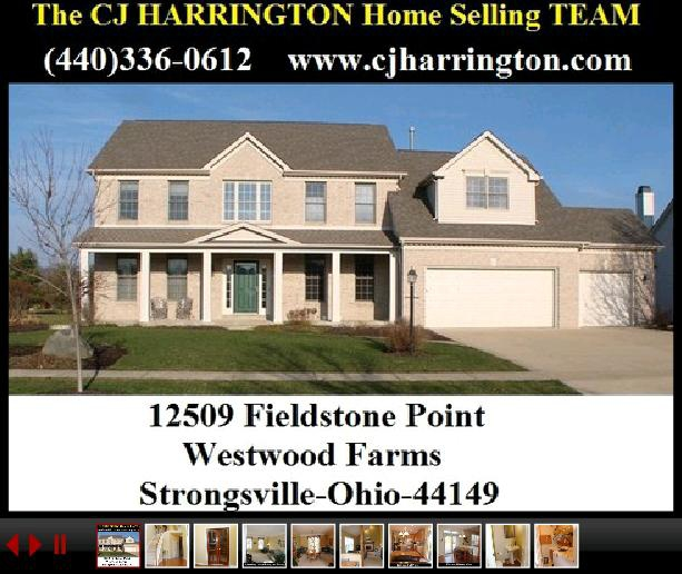04-12-12 Cleveland Real Estate-12509 Fieldstone Pt(Strongsville, Ohio 44149)...Call (440)336-0612 or Visit WWW.CJHARRINGTON.COM