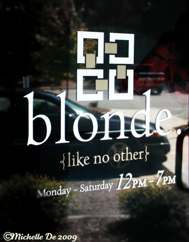 blonde boutique in Five Points of Athens, GA