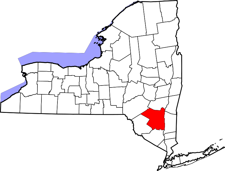 Ulster County Map