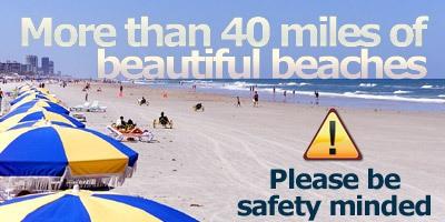 Daytona Beach 40 miles of beautiful beaches