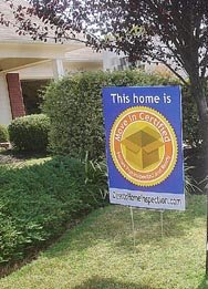 Move-In Certified Yard Sign
