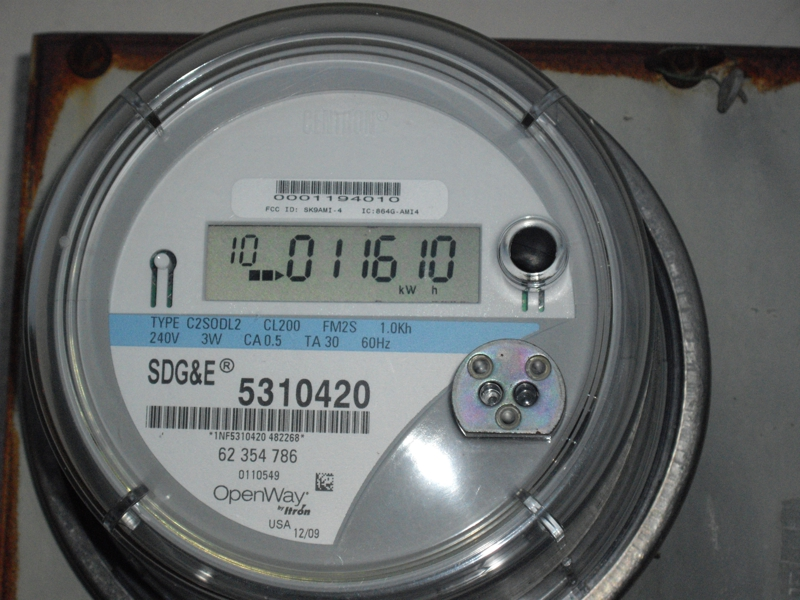 San Diego Gas & Electric Smart Meter