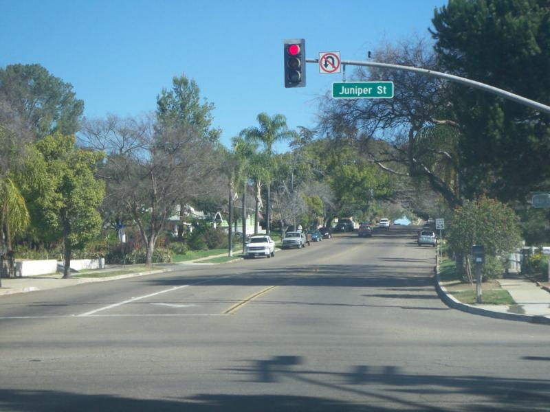 Some of the quiet treelined streets of Escondido - Jeff Dowler