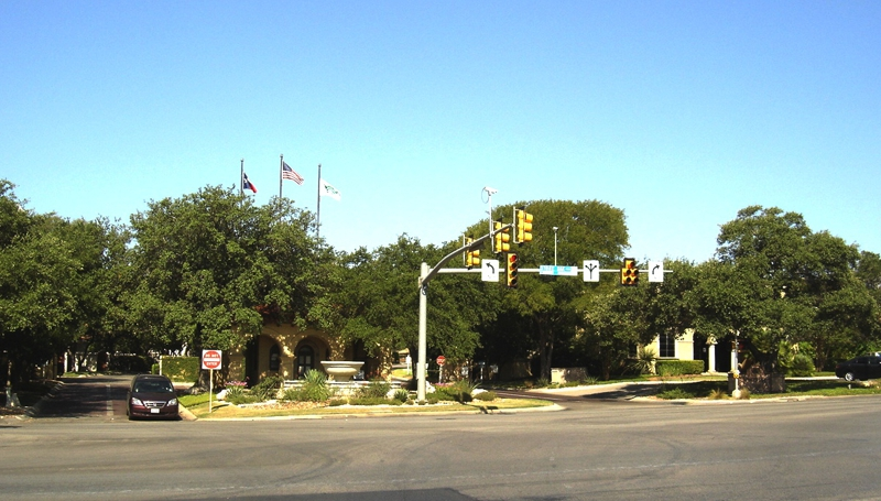 Main Entrance to Sonterra in San Antonio