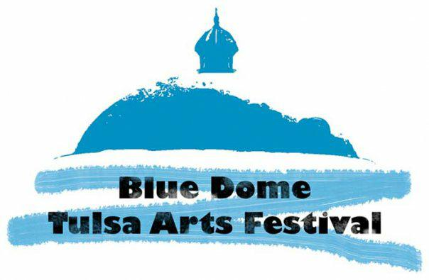 Blue Dome Arts Festival, downtown Tulsa, May 2010