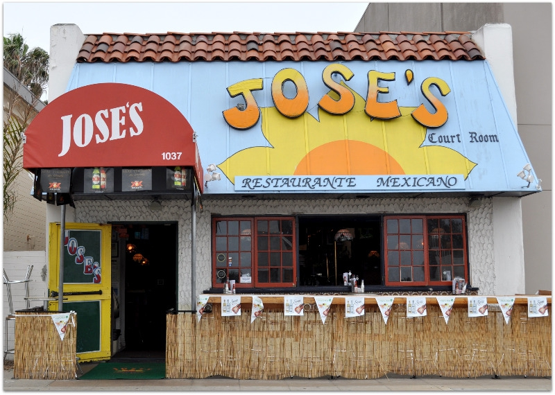 Jose's Court Room in La Jolla
