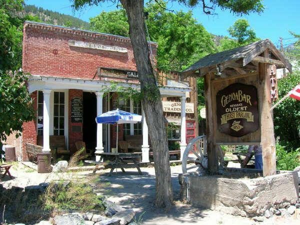 Genoa Bar, Genoa, Nevada, Carson Valley