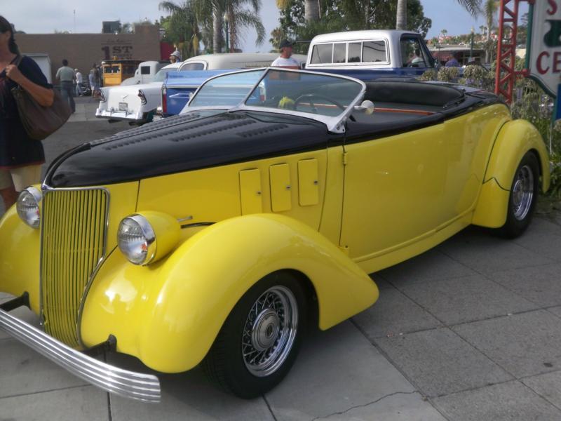 Classic Cars Cruise Night in Encinitas | Classic Cars, Nostalgia ...