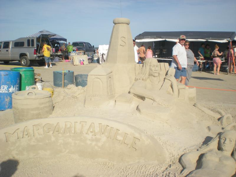 Texas sandfest port aransas texas 2009 for Port a texas