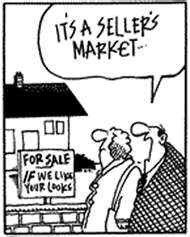Its a sellers market