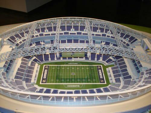Preview Of The New Dallas Cowboys Stadium