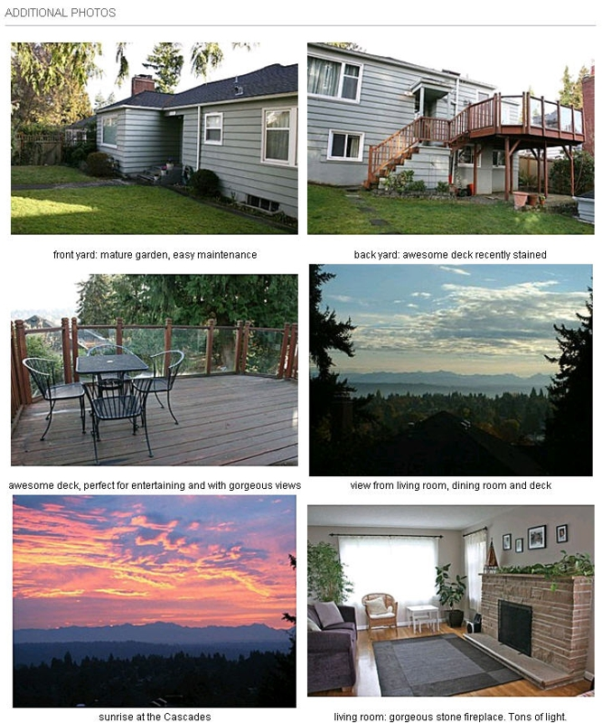 craigslist extra photos with Zillow post