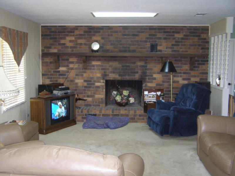 How To How To Paint Brick Fireplace