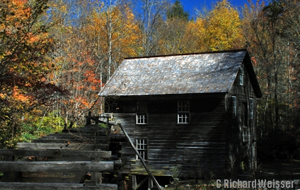 Mingus Mill in the Mingus Mill in the Great Smoky Mountains National Park!
