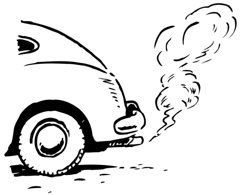 electric car pollution cartoon