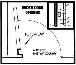 Wheelchair Accessible Homes Widening Doorways