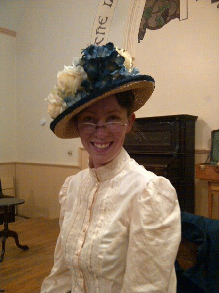 "Jennifer Carroll As Maud in ""Maud of Leaskdale"""