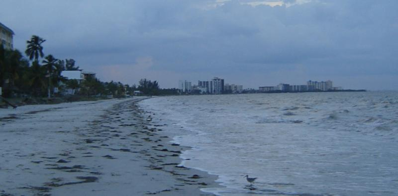 Fort Myers Beach looking towards Bonita Springs
