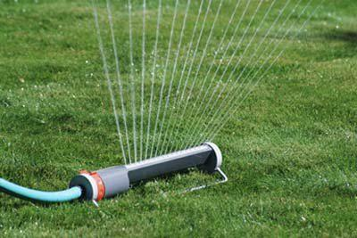 Watering Lawn with a Sandpoint Well