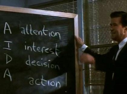 AIDA - Glengarry Glen Ross - Ultimate Sales Speech