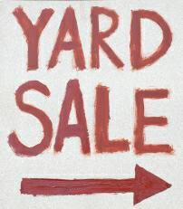 Yard Sale - istockphoto.com