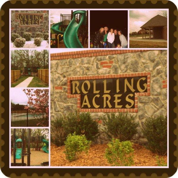 Rolling Acres Neighborhood in Bentonville Arkansas
