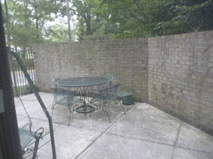 Towers Patio Baltimore Condo HomeRome 410-530-2400