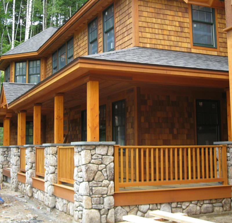 Adirondack style homes at loon mountain resort nh for Adirondack style house plans