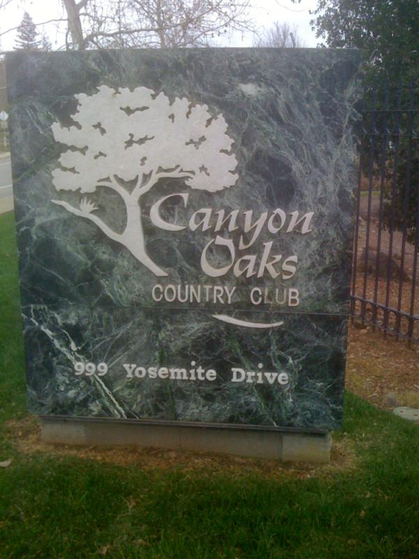 canyon oaks golf and country club chain real estate