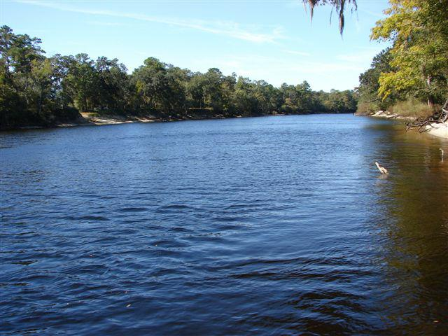 10 acres of land for sale on the Suwannee River, well, septic, telephone and power in place