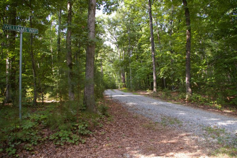 Sanford Ln - 10 Wooded Acres - Buck Quarter Farm Rd - Acreage in Hillsborough NC - Custom Homes Raleigh NC - Bring Your Own Builders
